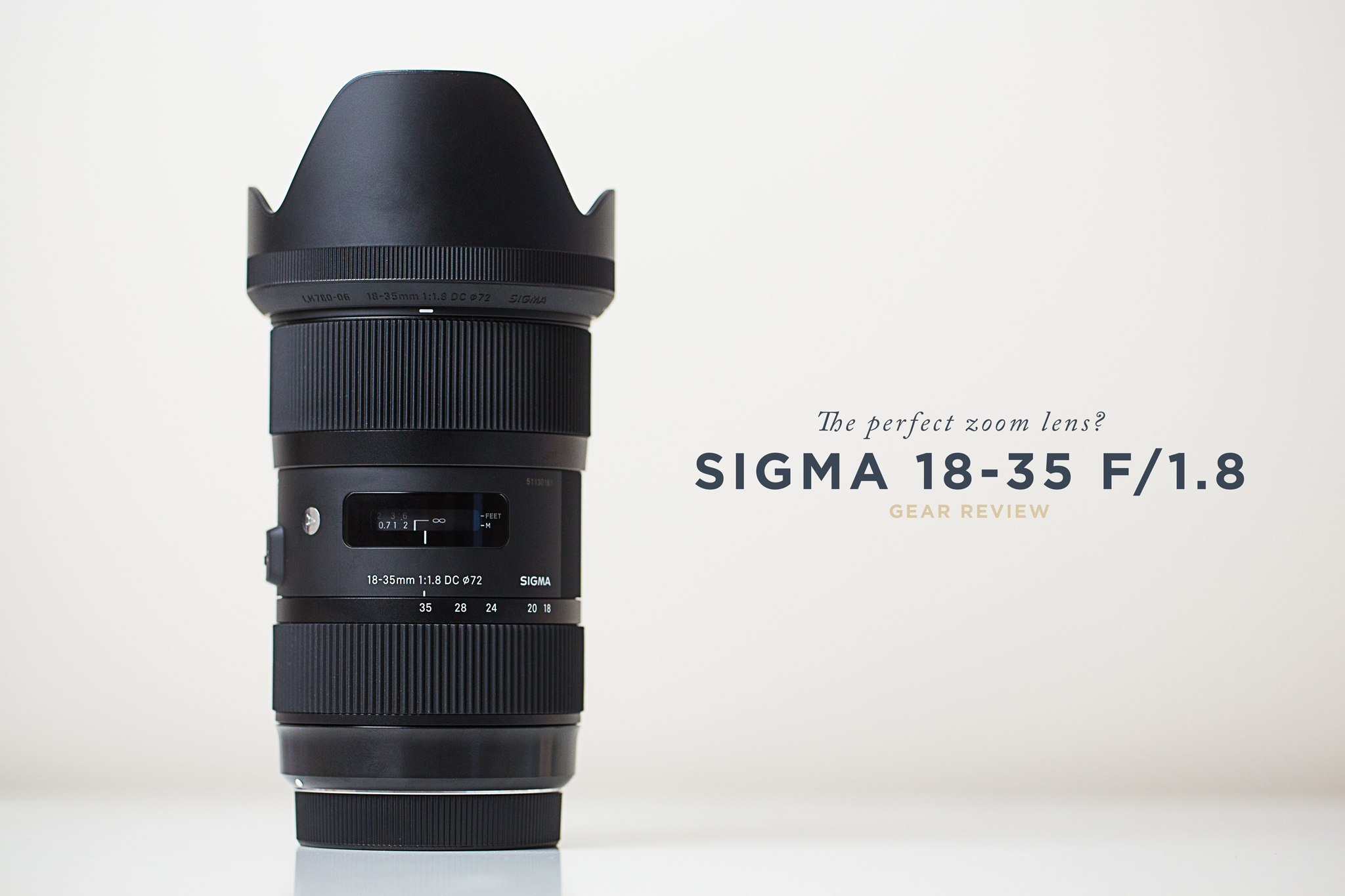 Sigma 18-35 f/1.8 Lens Review for Wedding Filmmakers | Virginia ...